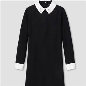 Victoria Beckham Wednesday Adams Bunny Dress